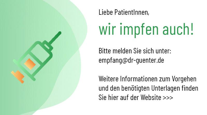Impfstation Praxis Dr. med. Uwe Günter