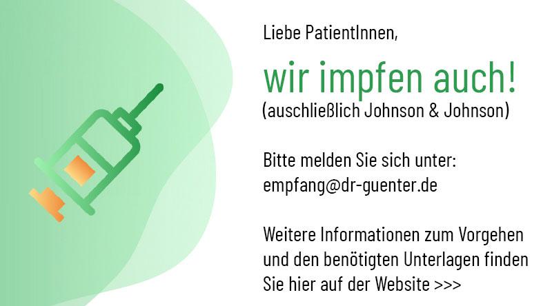 Impfstation Dr. Günter